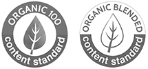 certificado Organic Content Standard y OCS Blended